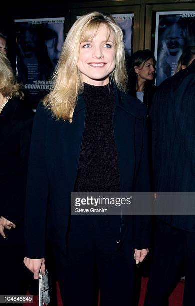 """Courtney Thorne-Smith during """"The Long Kiss Goodnight"""" Los Angeles Premiere at Mann National Theatre in Westwood, California, United States."""