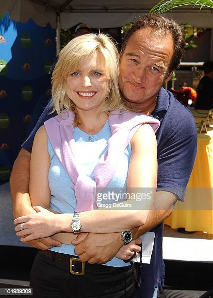 Courtney ThorneSmith Jim Belushi during ABC Primetime Preview Weekend Day 2 at Disney's California Adventure in Anaheim California United States