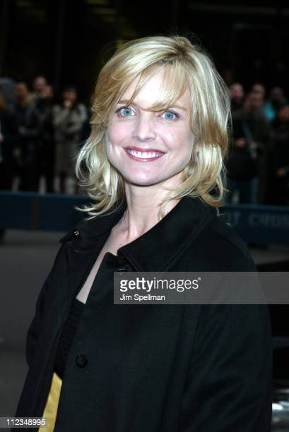 Courtney ThorneSmith of ABC's According to Jim during ABC Upfront 20022003 Season at Cipriani's 42nd Street in New York City New York United States