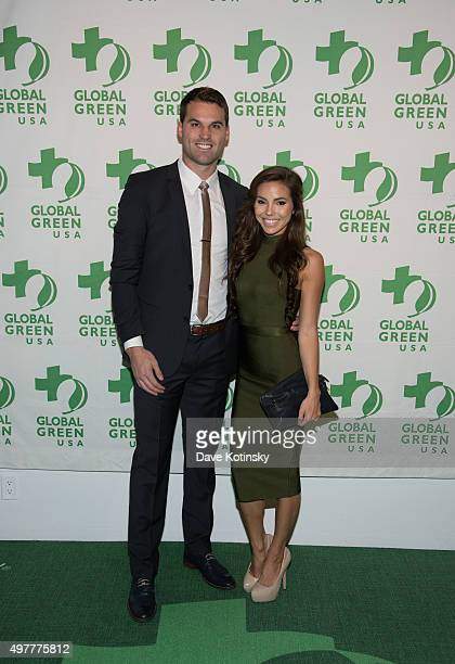 Courtney Turk arrives at the Global Green USA 2015 Benefit The Future of Food at The Glasshouses on November 18 2015 in New York City