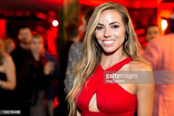 Courtney Turk attends the Premiere Of Neon and Refinery29's Assassination Nation After Party at The Avenue on September 12 2018 in Hollywood...