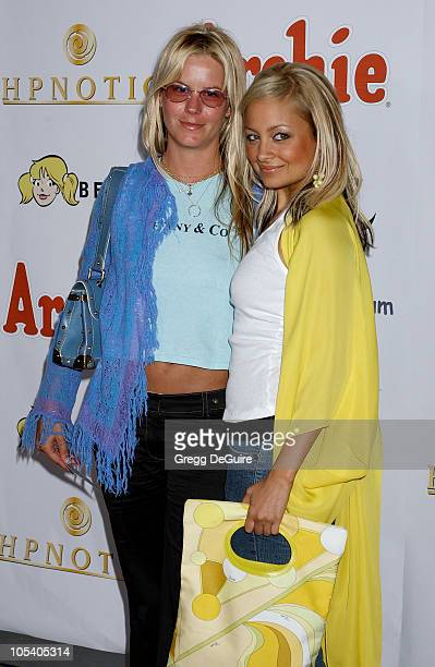 Courtney Wagner and Nicole Richie during Miramax Films Archie Comics and Kitson Launch New Apparel Line Featuring Betty Veronica at Kitson Retail...