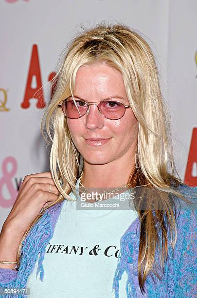 Courtney Wagner attends the Launch of Miramax Films Archie Comics and Kitson New Apparel Line Featuring Betty Veronica on May 24 2004 at Kitson...