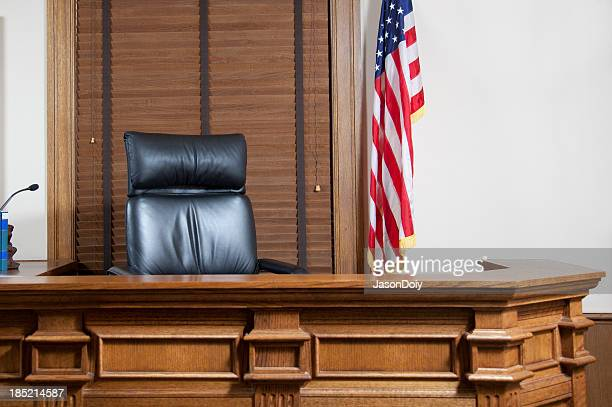 Courtroom Bench