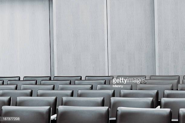 courtroom empty seat - courtroom stock pictures, royalty-free photos & images