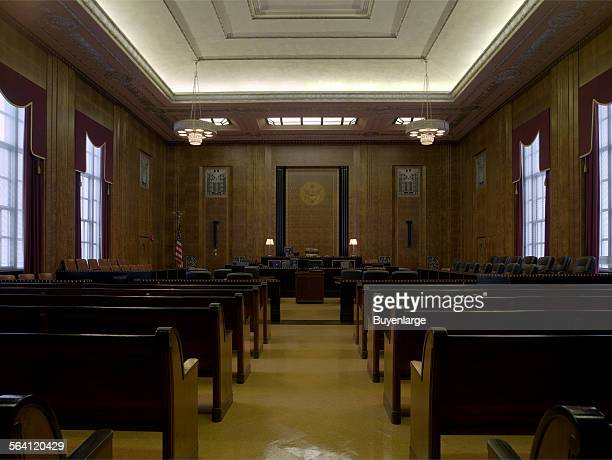 Courtroom James T Foley US Post Office and Courthouse Albany New York