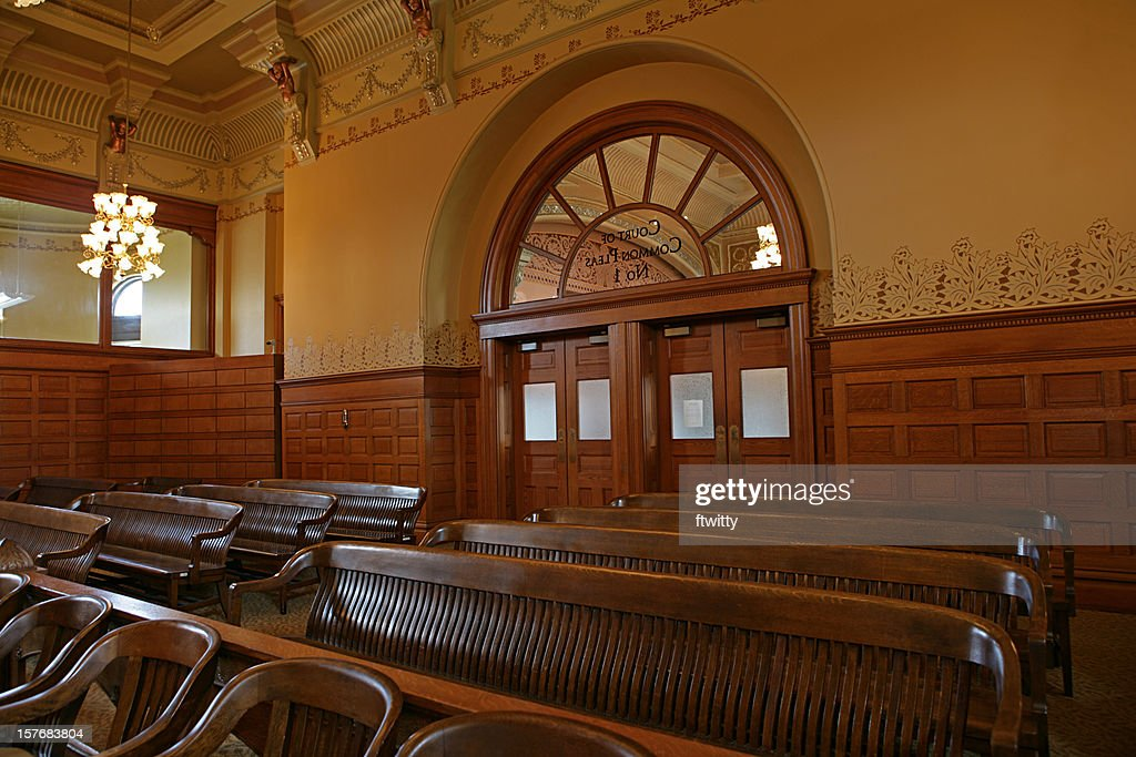 Courtroom : Stock Photo