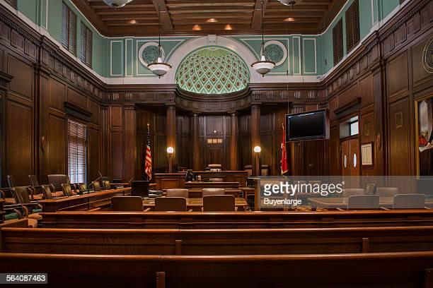 Courtroom. U.S. Court House, Augusta, Georgia