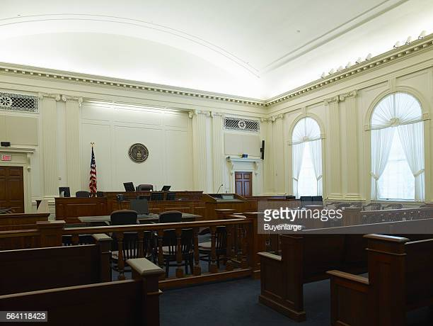 Courtroom US Courthouse Tallahassee Florida