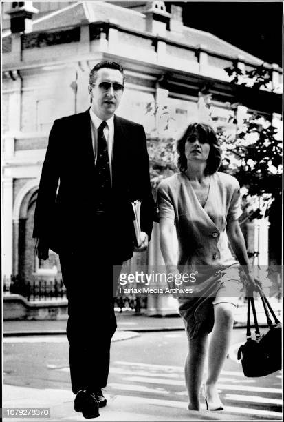 Courts 'AAA Airlines boss Ron Bartsh accompanied by wife Dlamica appearing at the Supreme Court today over copyright lawsPlans for a new Australian...