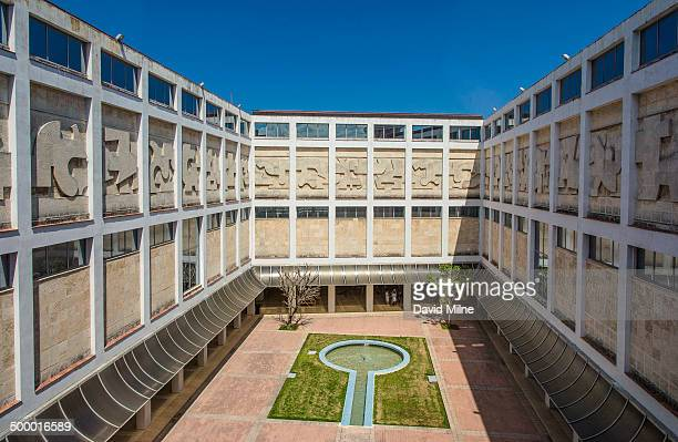 Courtyard at the National Museum of Beautiful Arts of Cuba