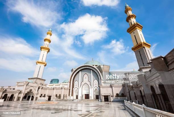 Courtyard, Federal Territory Mosque, Kuala Lumpur, Malaysia