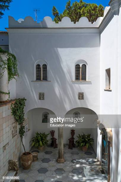 Courtyard In Villa San Michele Ana Capri Capri Italy