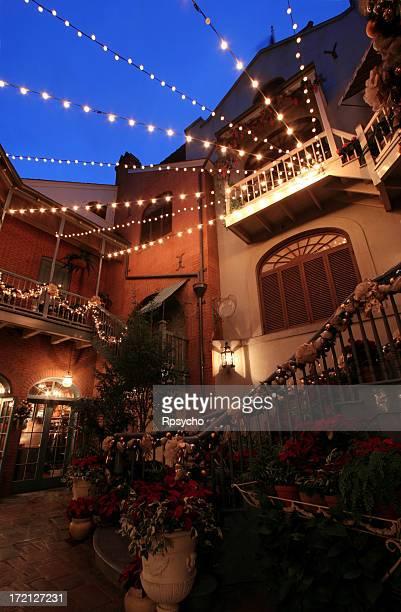 Courtyard Night Scene