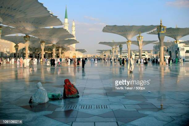 Courtyard of Al-Masjid al-Nabawi