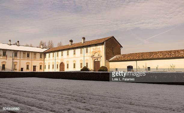Courtyard of Certosa di Pavia