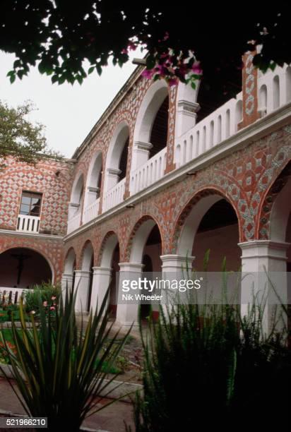 Courtyard of Santa Rosa Convent