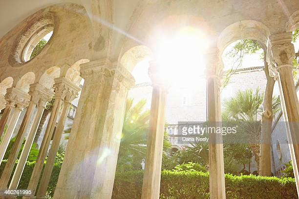 Courtyard of the Franciscan Monastery, Dubrovnik.