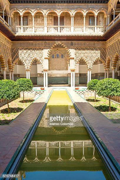 Courtyard of the Maidens, Alcazar of Seville Spain