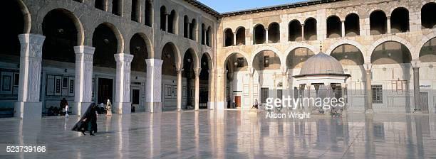 Courtyard of Umayyad Mosque