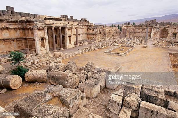 Courtyard Ruins at Baalbek, Lebanon