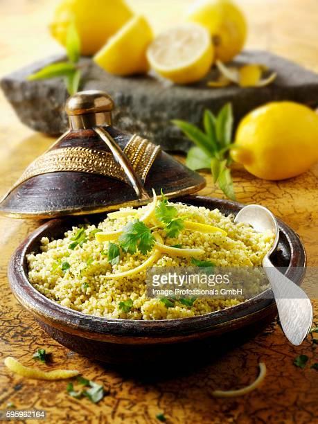 Couscous with lemon