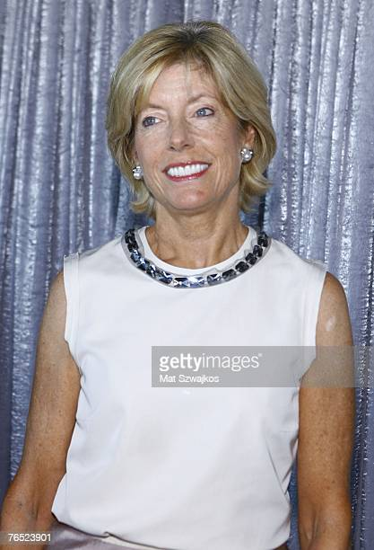 Couture Council chair Liz Peek arrives at the FIT Couture Council Luncheon on September 5 2007 in New York City