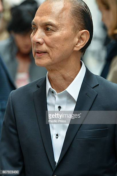 Couture shoe designer Jimmy Choo attends the Jasper Conran Spring/Summer 17 Collection runway show during London Fashion Week Jimmy Choo is the...