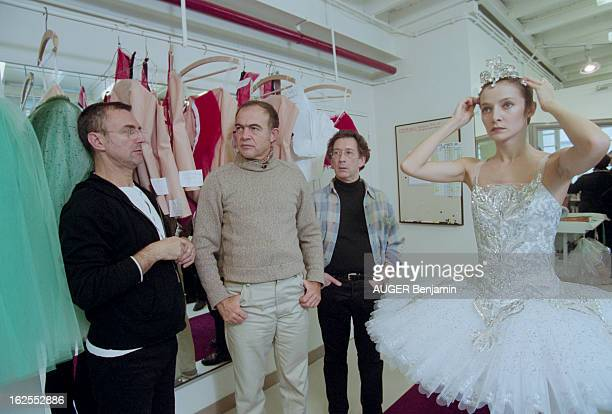 Couturier Christian Lacroix Created The Costumes And Scenery Of Three Famous Balanchine Ballets 'Diamond' 'Emerald' And 'Ruby' Gathered Under The...