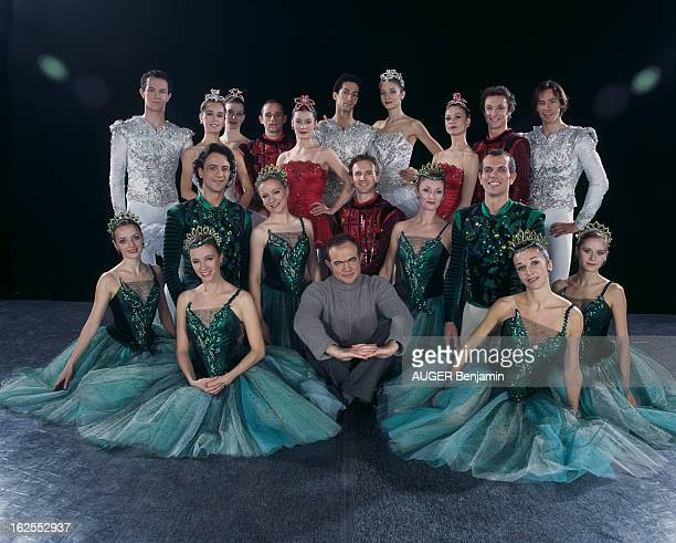Couturier Christian Lacroix Created The Costumes And Scenery Of Three Famous Balanchine Ballets 'Diamond', 'Emerald' And 'Ruby', Gathered Under The...