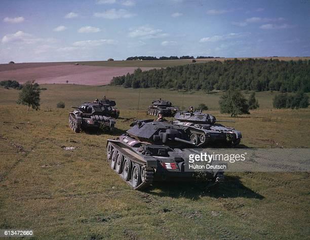 Covenantor tanks training 1942