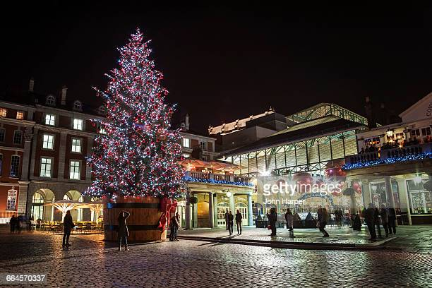 Covent Garden at Christmas, London