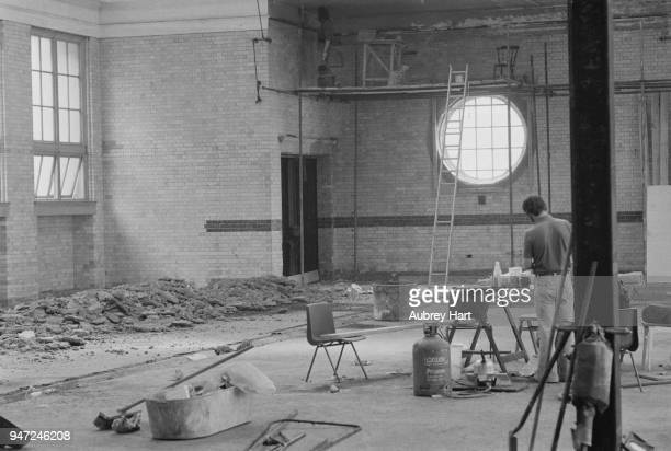 Covent Garden Jubilee Hall under construction London UK 17th May 1977