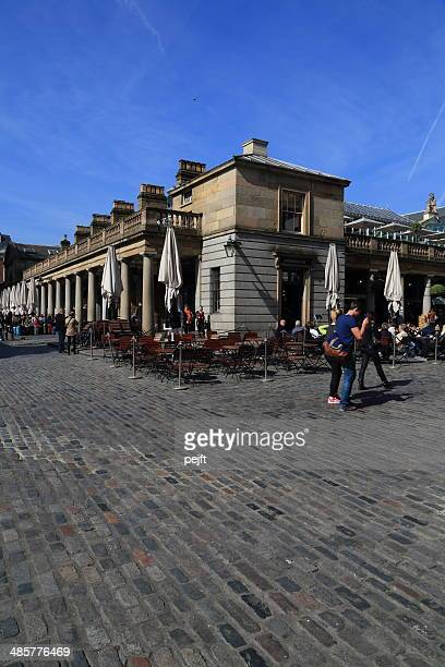 covent garden, london - outdoor view - pejft stock pictures, royalty-free photos & images