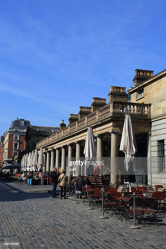 Covent Garden, London - outdoor view : Stock Photo