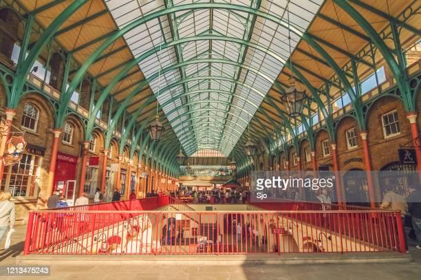 "covent garden market in london uk - ""sjoerd van der wal"" or ""sjo"" stock pictures, royalty-free photos & images"