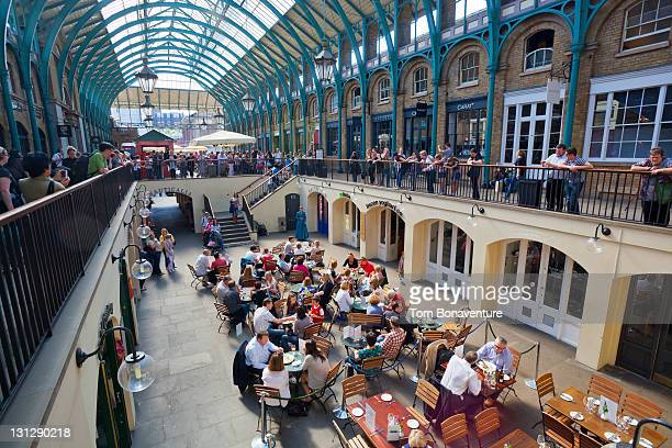 covent garden market - royal opera house london stock pictures, royalty-free photos & images