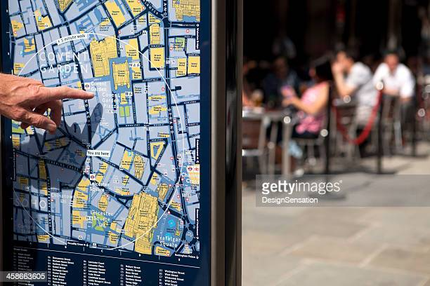 Covent Garden - Street Map, London (XXXL)