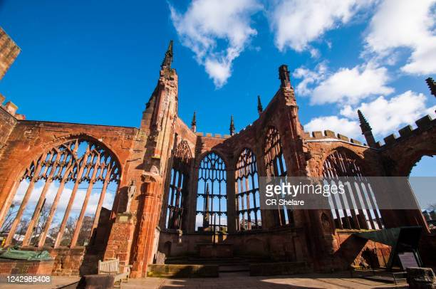 coventry cathedral, coventry, uk. - coventry stock pictures, royalty-free photos & images