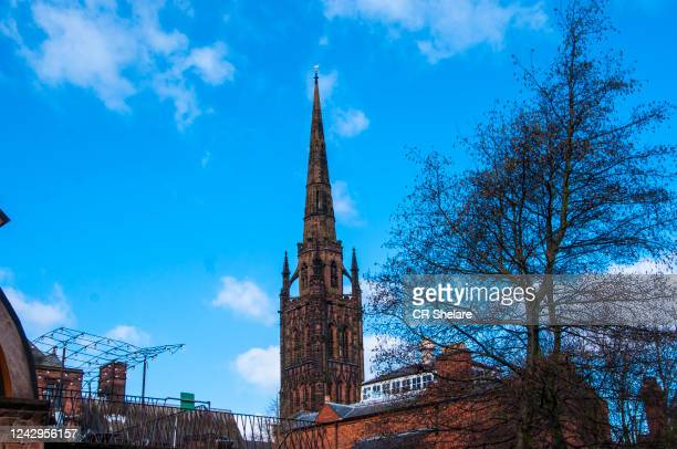coventry cathedral - coventry stock pictures, royalty-free photos & images