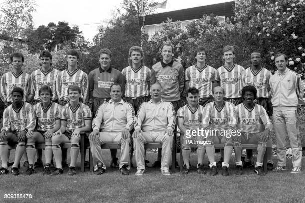 Coventry City FA Cup Final squad Trevor Peake Nick Pickering Steve Sedgley Jake Findlay Brian Kilcline Steve Ogrizovic Keith Houchen Graham Rodger...