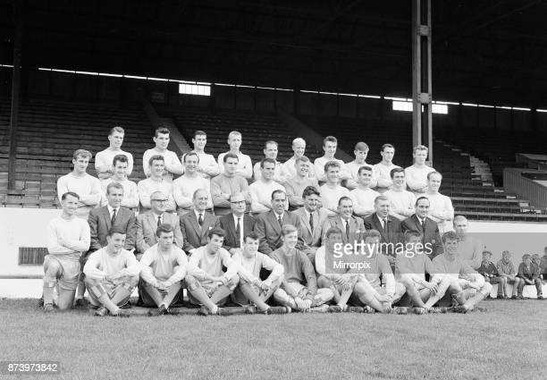 Coventry City FC 1963/64 Pre Season Photocall August 1963 Jimmy Hill Manager