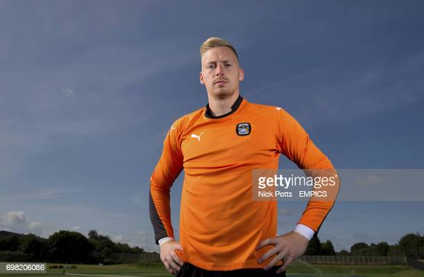 Coventry City goalkeeper Ryan Allsop during a feature photoshoot at Ryton Training Ground Coventry