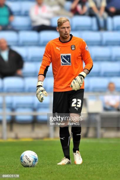 Coventry City goalkeeper Ryan Allsop