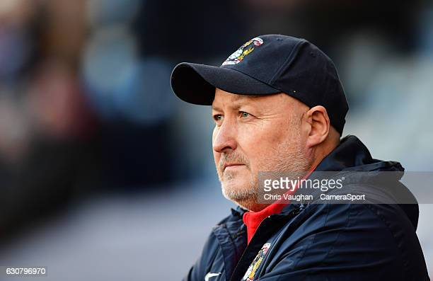 Coventry City manager Russell Slade during the Sky Bet League One match between Coventry City and Bolton Wanderers at Ricoh Arena on January 2 2017...