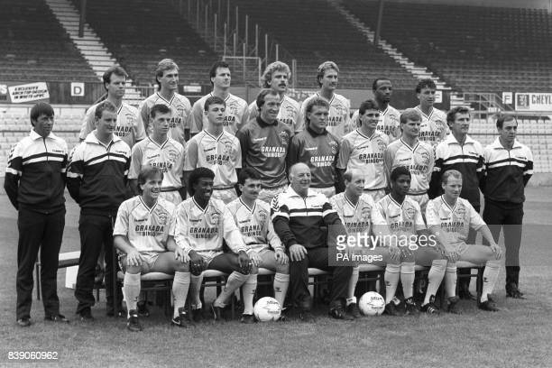 Coventry City squad for the 198788 season Trevor Peake Graham Rodger Keith Houchen Brian Kilcline Kevan Smith Cyrille Regis and Paul Culpin Mike Coop...