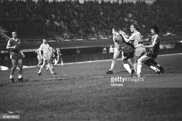 Coventry City v Washington Diplomats football match at Highfield Road Monday 23rd March 1981