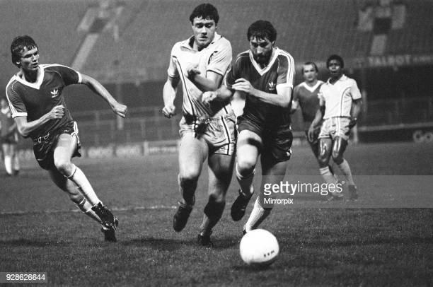 Coventry City v Washington Diplomats, football match at Highfield Road, Monday 23rd March 1981.