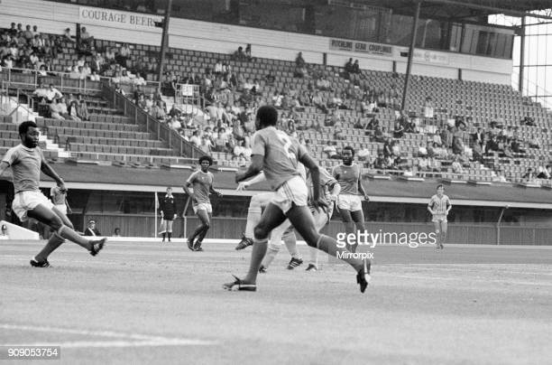 Coventry City v Zimbabwe Pre Season Friendly at Highfield Road Friday 19th August 1983