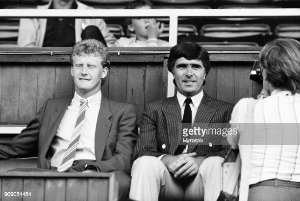 Coventry City v Zimbabwe, Pre Season Friendly at Highfield Road, Friday 19th August 1983. Bobby Gould, Manager.